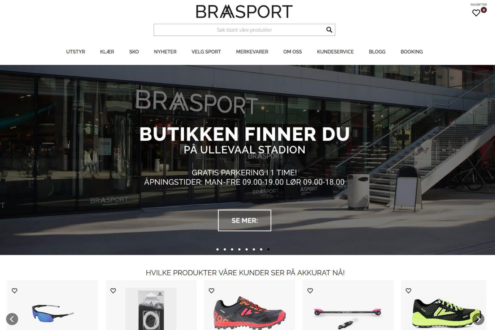 Braasport nettbutikk