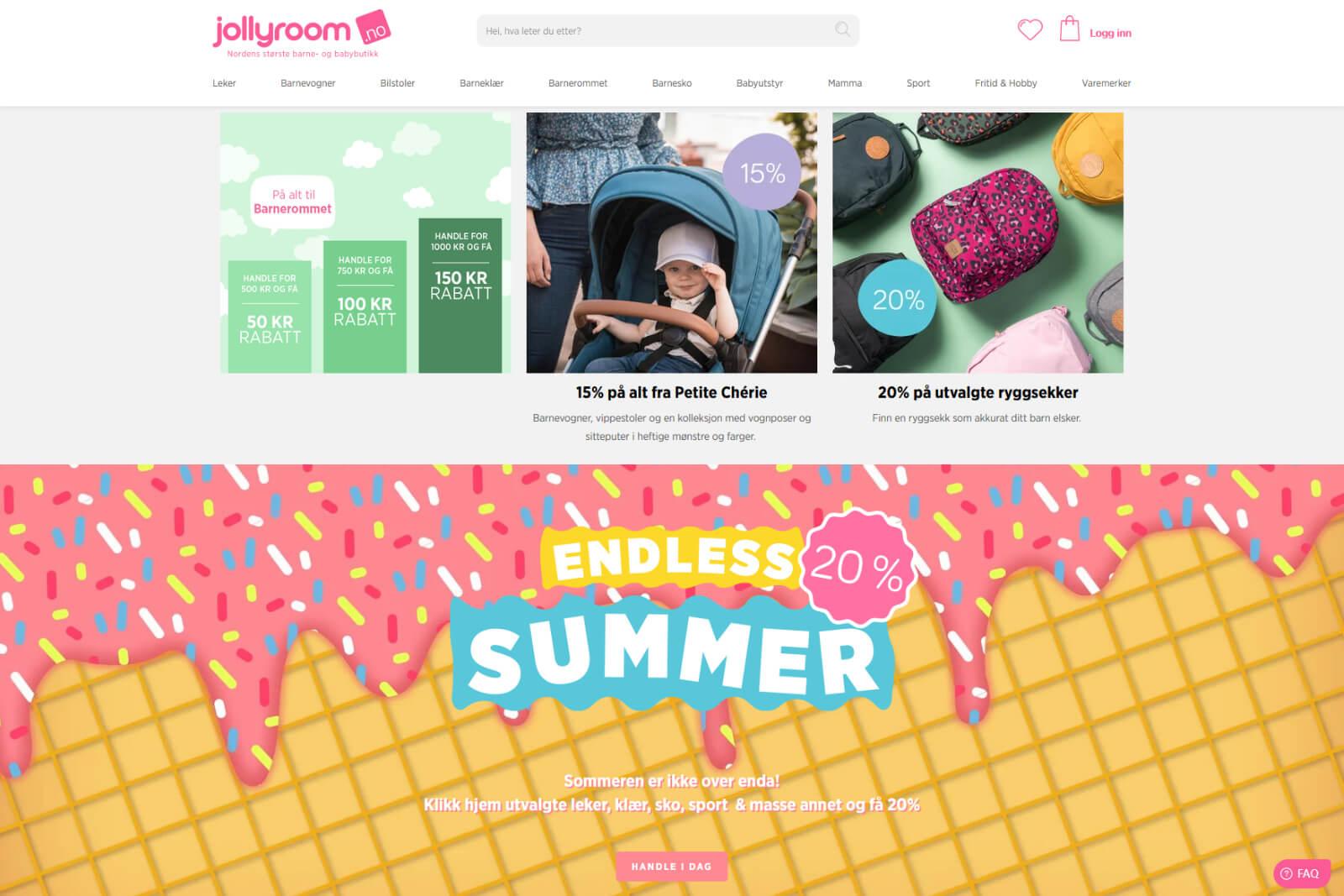 Jollyroom nettbutikk